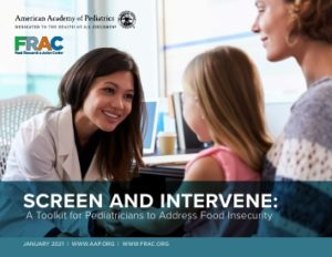 A Free Toolkit for Pediatricians to Address Food Insecurity